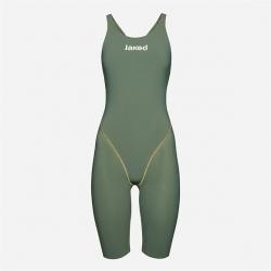 JAKED J ALPHA Army Green - Dos Ouvert / Open Back - Combinaison Femme Natation Compétition