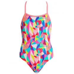 FUNKITA Fille - Pastel Patch - Strapped In