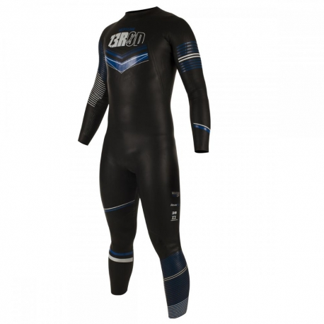 Combinaison Triathlon Homme ZEROD NEPTUNE MAN - BLACK/BLUE - New 2019