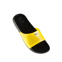 Claquettes Arena MARCO X GRIP BOX HOOK - Black Yellow