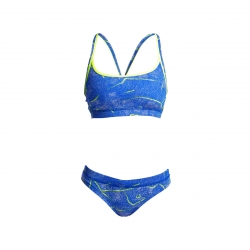 FUNKITA Sea Salt Top & Brief Sports - Maillot 2 pieces Femme Natation