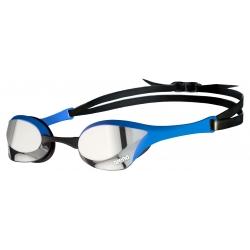 ARENA Cobra Ultra Swipe Mirror - Silver Blue - Lunette Natation Bleu Verres Argent