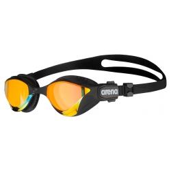 ARENA Cobra TRI SWIPE Mirror - Yellow Copper Blac - Lunettes Triathlon Noir et Jaune