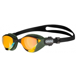 ARENA Cobra TRI SWIPE Mirror - Yellow Copper Army - Lunettes Triathlon