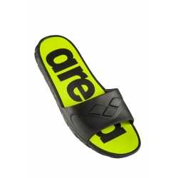 Arena WATERGRIP M - Black Lime - Claquettes Hommes Piscine