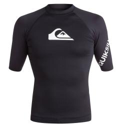 Tee Shirt Quiksilver All time SS-KVJO Black WHITE