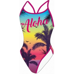 Maillot de bain SWEAMS Aloha - Maillot femme 1 piece