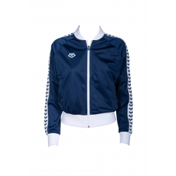 Sweat ARENA FEMME W RELAX 4 TEAM JACKET - NAVY WHITE NAVY