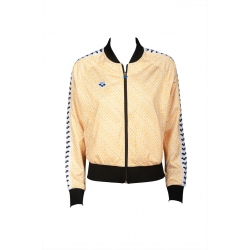 Veste ARENA FEMME W RELAX IV TEAM JACKET - Diamonds White Yellow Black