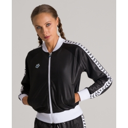 Veste Femme ARENA W RELAX IV TEAM Jacket Shiny Black White Black