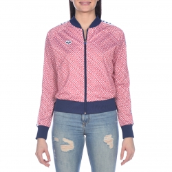 Veste Femme ARENA W RELAX IV TEAM Jacket - Diamonds White Red Navy