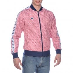 Veste ARENA M RELAX IV Team Jacket - Diamonds White Red Navy