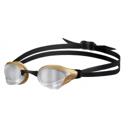 ARENA Cobra Core Swipe Mirror - Silver Gold - Lunettes Natation