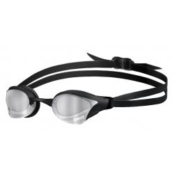 ARENA Cobra Core Swipe Mirror - Silver Black - Lunettes Natation