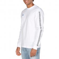 Tee shirt ARENA HOMME Long Sleeve Shirt White White Black