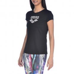 T-Shirt Fitness ARENA FEMME W Gym S/S Logo Black