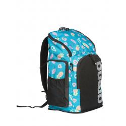 ARENA Team Backpack 45 Allover Neon Light Mints - Sac à Dos Natation