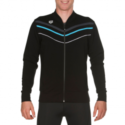 Sweat ARENA M GYM F/Z JACKET BLACK
