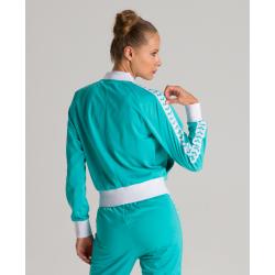 Veste Femme ARENA W RELAX IV TEAM Jacket - Mint White Lint - Veste Streetwear Vert Menthe