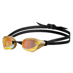 ARENA Cobra Core Swipe Mirror - Yellow Copper Gold - Lunettes Natation
