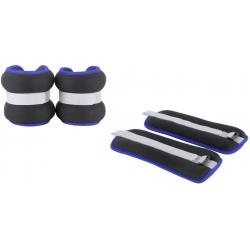 Bracelets lestés 2kg - Pour travail poignets et chevilles - La paire