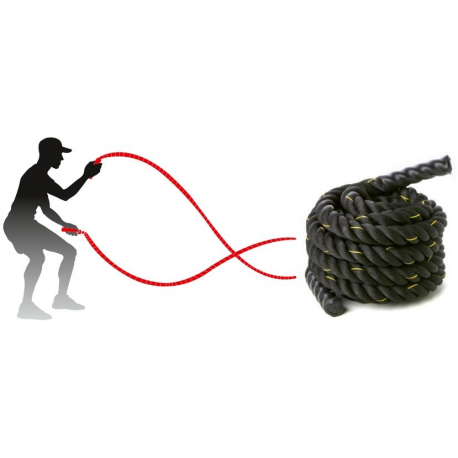 Corde ondulatoire indoor