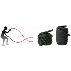 Corde ondulatoire 12 m x 26 mm (intérieur)