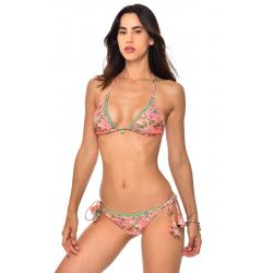 Haut de Bikini BANANA MOON LUA KILIFI - CORAIL - Haut maillot de bain Plage 2 pièces