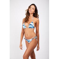 Haut de Bikini BANANA MOON JOTRAO MITSIO - BLEU - Haut maillot de bain Plage 2 pièces
