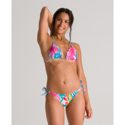 ARENA Allover Triangle 2 pieces Pink Flambe Multi - Maillot de bain 2 pièces