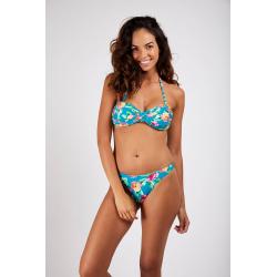 Haut de Bikini BANANA MOON BORO POPPYSEEDS - BLEU - Haut maillot de bain Plage 2 pièces