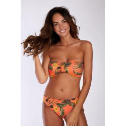 Bas de Bikini BANANA MOON MERENDA BANANAS - CORAIL - Bas maillot de bain Plage 2 pièces