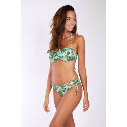 Bas de Bikini BANANA MOON MERENDA BANANAS - TURQUOISE - Bas maillot de bain Plage 2 pièces