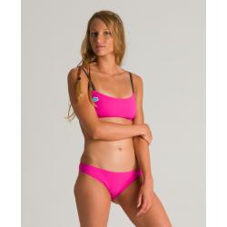 ARENA ICONS Bandeau 2 pieces Pink Flambe - Maillot de bain 2 pièces
