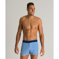 Arena ICONS Print X-Short Royal Navy White - Bermuda / Short de Plage