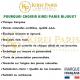 Bracelet Pierres Naturelles AMETHYSTE 8mm - KIREI PARIS BIJOUX