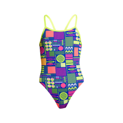 Funkita Fille (6 à 14ans) PACKED LUNCH - Single Straps - Maillot de bain Natation