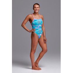 Funkita SUSHI SMOOSHY - Tie Me Tight On - Maillot de bain Femme Natation