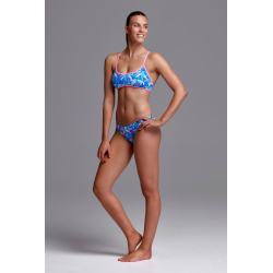 Funkita BOOBOM BLUE - Cross Back - Maillot de bain Femme Natation