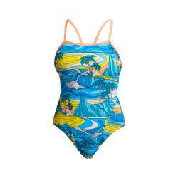 Funkita SUMMER BAY - ECO Single Straps - Maillot de bain Femme Natation