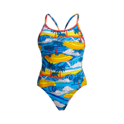 Funkita BEACH BUM- ECO Diamond Back - Maillot de bain Femme Natation