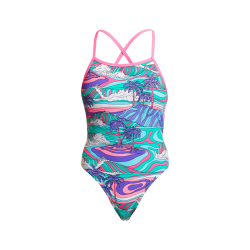 Funkita PALM CAVE - ECO Tie Me Tight - Maillot de bain Femme Natation