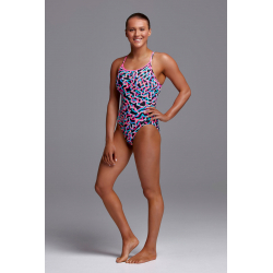 Funkita LIVE STREAMER - Diamond Back - Maillot de bain Femme Natation