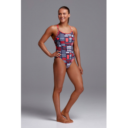 Funkita BENTO BOX - Diamond Back - Maillot de bain Femme Natation