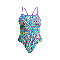 Funkita MINT STRIPS - Single Straps - Maillot de bain Femme Natation