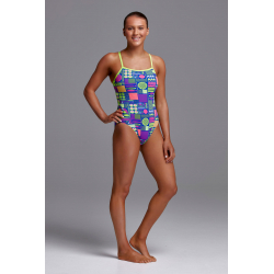 Funkita PACKED LUNCH - Single Straps - Maillot de bain Femme Natation