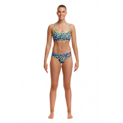 Funkita NOODLE BAR - Sports Top & Brief - Maillot 2 pièces Natation