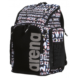 ARENA Team Backpack 45 Allover Neon Glitch - Sac à Dos Natation