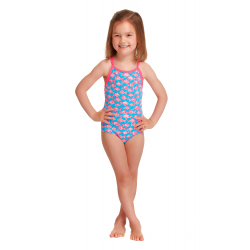 Funkita Toddler (1-7 ans) FANCY FISH - Maillot Fille Natation