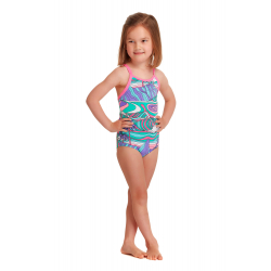 Funkita Toddler (1-7 ans) PALM CAVE - Maillot Fille Natation